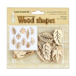 Objekten zum Dekorieren / objects for decorating Blätter aus holz, 20 Teile