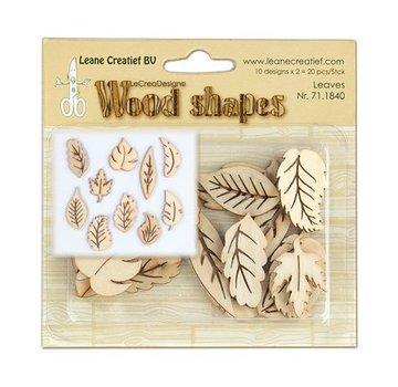 Objekten zum Dekorieren / objects for decorating Lamiere di legno, 20 pezzi