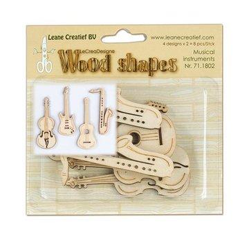 Objekten zum Dekorieren / objects for decorating Strumenti Musical in legno