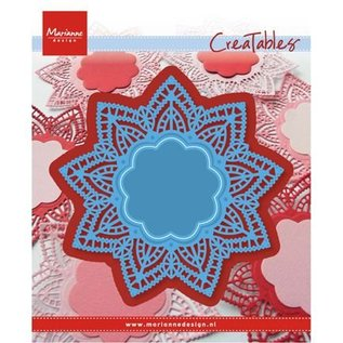 Marianne Design Cutting and embossing stencils, doily star