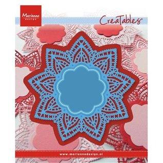 Marianne Design Taglio e goffratura stencil, centrino stella