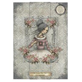 Karten und Scrapbooking Papier, Papier blöcke Designerblock, A4