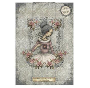 Karten und Scrapbooking Papier, Papier blöcke Designer blok A4