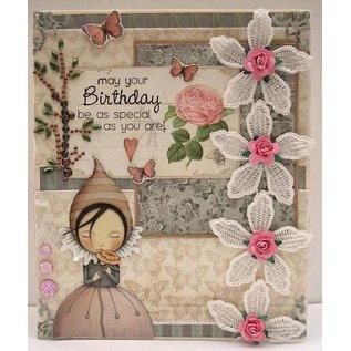 Karten und Scrapbooking Papier, Papier blöcke Designer Block, Santoro London, 15,2x15,2cm