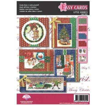 PERGAMENT TECHNIK / PARCHMENT ART Perkament Set: 5 voor kerstkaarten