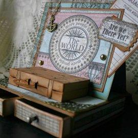 Heartfelt Creations aus USA Plantilla, bolsos y etiquetas para cortar y grabar en relieve