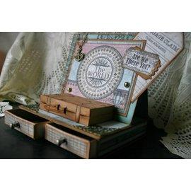 Heartfelt Creations aus USA Stanz- und Prägeschablone, Koffer und Labels - LETZTE ARTIKEL!