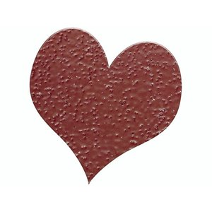 FARBE / STEMPELKISSEN Embossing Powder 10g glitter ruby ​​red