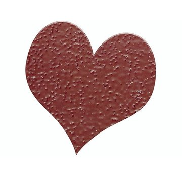 FARBE / STEMPELKISSEN Prægning Pulver 10g glitter rubinrød