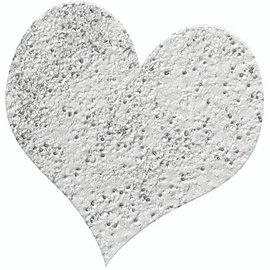 FARBE / STEMPELKISSEN Goffratura polvere 10g brillantini argento