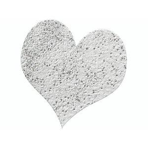 FARBE / STEMPELKISSEN Embossing Pulver 10g glitter sølv