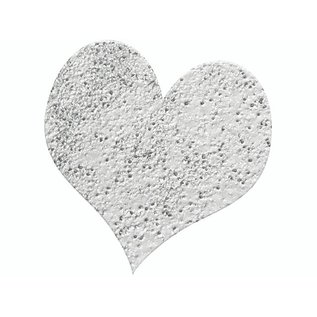 FARBE / STEMPELKISSEN Embossing Powder 10g glitter zilver