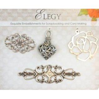 Embellishments / Verzierungen Charms metallo Set