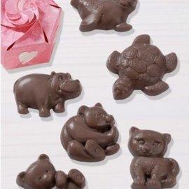 GIESSFORM / MOLDS ACCESOIRES Schokoladengießform: Animales