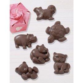 Modellieren Chocoladevorm: dieren