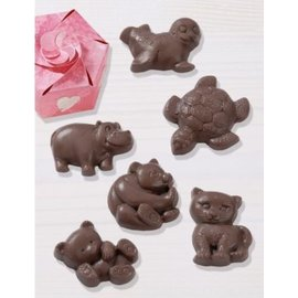 Modellieren Schokoladengießform: Dyr
