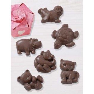 Modellieren Schokoladengießform: Animals
