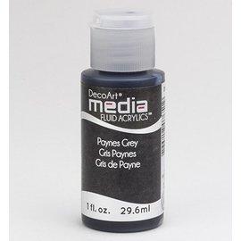 DecoArt media vloeistof acryl, Payne Grey