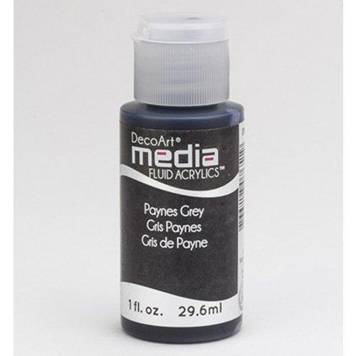 DecoArt Les acryliques de liquide de médias, gris de payne