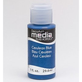 DecoArt acrilici fluido dei media, Cerulean Blu