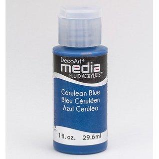 DecoArt media vloeistof acryl, Cerulean Blue