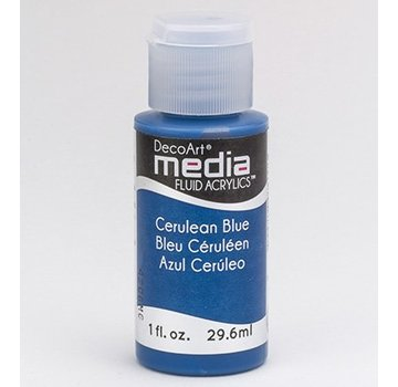 DecoArt medier væske akryl, Cerulean Blå