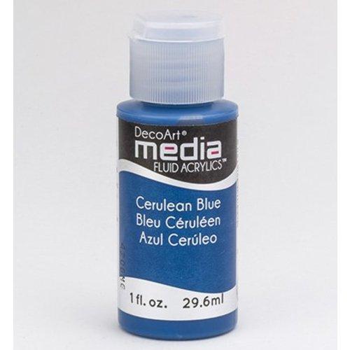 DecoArt acryliques fluides de médias, bleu Cerulean