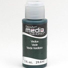 Decoart acrílicos fluidos de comunicación, Viridian Verde Hue