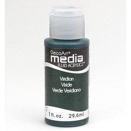 DecoArt media vloeistof acryl, Viridian Green Hue