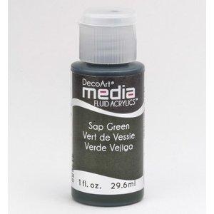 DecoArt media Fluid acrylics, Sap Green