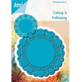 Joy!Crafts / Jeanine´s Art, Hobby Solutions Dies /  Stampen en Embossing stencil, Spitzedeckchen round