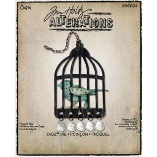 Sizzix Sizzix Bigz van Tim Holtz, Caged Bird