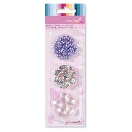 Schmuck Gestalten / Jewellery art Mélanger perles, rose pourpre