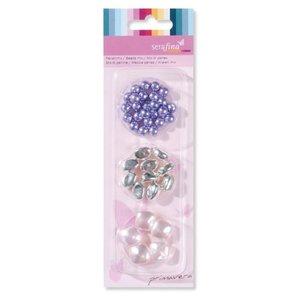 Schmuck Gestalten / Jewellery art Mix beads, purple-pink