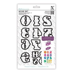 Docrafts / X-Cut X-Cut, cutting stencils with single, large numbers