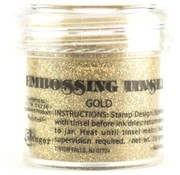 Ranger, embossing powder, gold