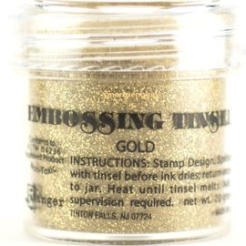 Ranger, embossing powder, gold