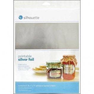 Silhouette Printable sticker film - Zilver