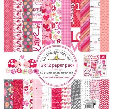 Designer Papier Scrapbooking: 30,5 x 30,5 cm Papier Bloc de papier pour cartes et scrapbook, 30,5 x 30,5 cm