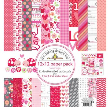 Designer Papier Scrapbooking: 30,5 x 30,5 cm Papier Cards and scrapbook paper block, 30.5 x 30.5cm
