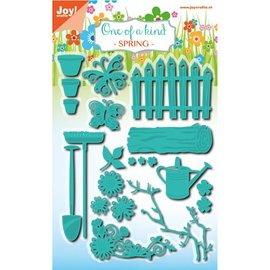 Joy!Crafts / Jeanine´s Art, Hobby Solutions Dies /  Poinçonnage et de gaufrage pochoir, salon de jardin