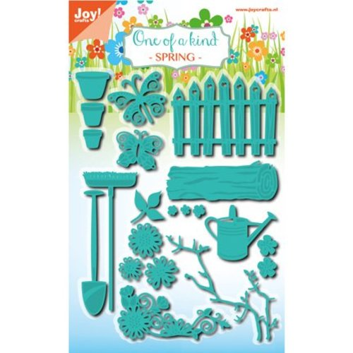 Joy!Crafts / Jeanine´s Art, Hobby Solutions Dies /  Punching and embossing stencil set, garden set