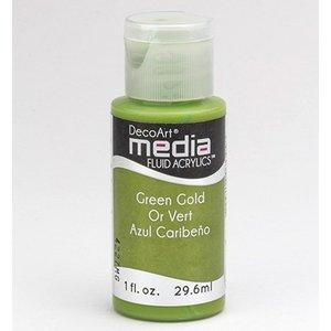 DecoArt media vloeistof acryl, Green Gold