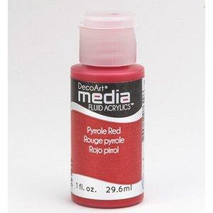 DecoArt acryliques fluides de médias, PYRROLES Rouge