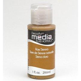 DecoArt acrilici fluido dei media, Raw Sienna