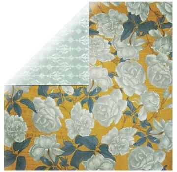 Designer Papier Scrapbooking: 30,5 x 30,5 cm Papier 1 vel Rosen Designer Paper