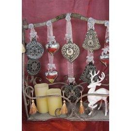 VIVA DEKOR (MY PAPERWORLD) Sellos transparentes, bola de Navidad 3D con la campana