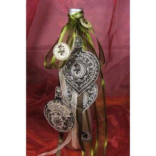 VIVA DEKOR (MY PAPERWORLD) Minus 15% korting = € 4,72! Stempel, 3D Kerst bal met bel