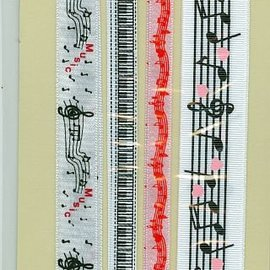 Joy!Crafts / Jeanine´s Art, Hobby Solutions Dies /  Rubans décoratifs, 4 x 1 mètres