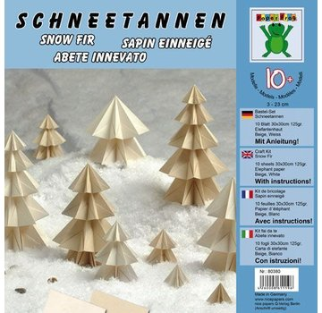BILDER / PICTURES: Studio Light, Staf Wesenbeek, Willem Haenraets Bastelset: Schneetannen 10 Blatt 30x30cm 125g/m² Elefantenhaut